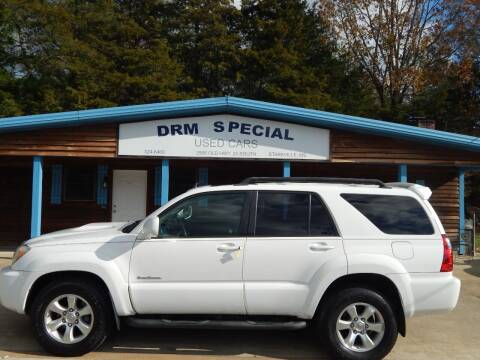 2006 Toyota 4Runner for sale at DRM Special Used Cars in Starkville MS