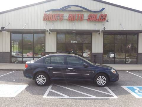 2010 Chevrolet Cobalt for sale at DOUG'S AUTO SALES INC in Pleasant View TN