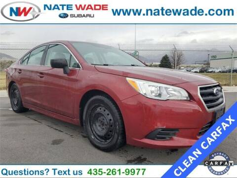 2015 Subaru Legacy for sale at NATE WADE SUBARU in Salt Lake City UT