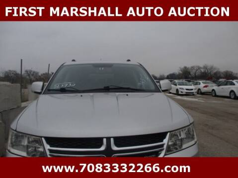 2011 Dodge Journey for sale at First Marshall Auto Auction in Harvey IL