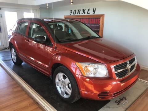 2009 Dodge Caliber for sale at Forkey Auto & Trailer Sales in La Fargeville NY
