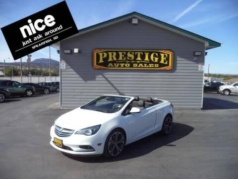 2016 Buick Cascada for sale at PRESTIGE AUTO SALES in Spearfish SD