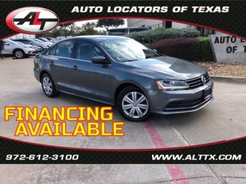 2017 Volkswagen Jetta for sale at AUTO LOCATORS OF TEXAS in Plano TX