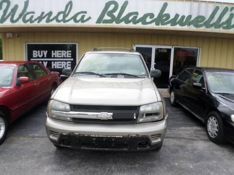 2002 Chevrolet TrailBlazer for sale at Credit Cars of NWA in Bentonville AR