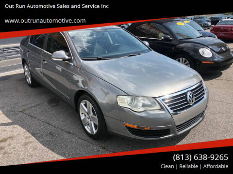 2008 Volkswagen Passat for sale at Out Run Automotive Sales and Service Inc in Tampa FL