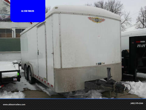 2011 USED 18 FOOT CARGO H&H for sale at ALL STAR TRAILERS Used in , NE
