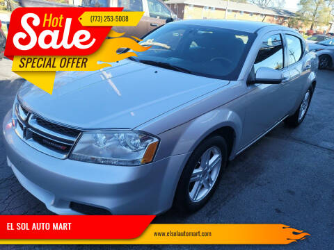 2012 Dodge Avenger for sale at EL SOL AUTO MART in Franklin Park IL