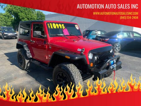 2007 Jeep Wrangler for sale at Automotion Auto Sales Inc in Kingston NY