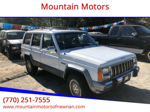 1994 Jeep Cherokee for sale at Mountain Motors in Newnan GA