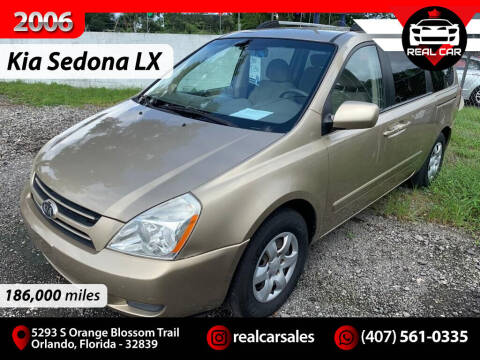 2006 Kia Sedona for sale at Real Car Sales in Orlando FL
