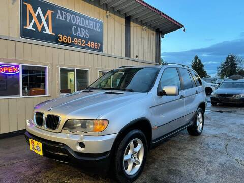 2001 BMW X5 for sale at M & A Affordable Cars in Vancouver WA