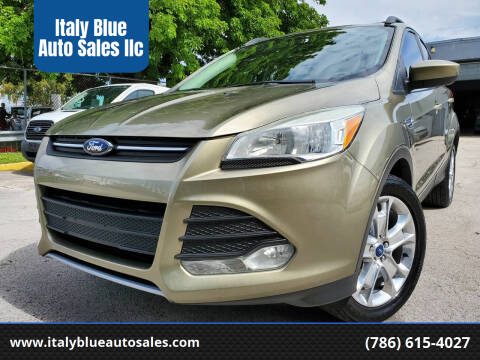 2013 Ford Escape for sale at Italy Blue Auto Sales llc in Miami FL