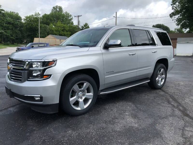 2018 Chevrolet Tahoe for sale at Teds Auto Inc in Marshall MO