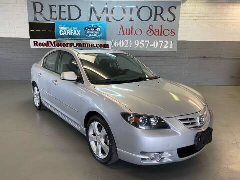 2004 Mazda MAZDA3 for sale at REED MOTORS LLC in Phoenix AZ