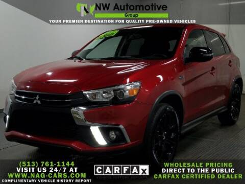 2019 Mitsubishi Outlander Sport for sale at NW Automotive Group in Cincinnati OH