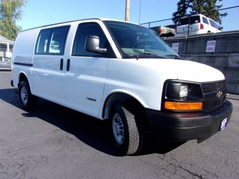 2006 Chevrolet Express Cargo for sale at Delta Auto Sales in Milwaukie OR
