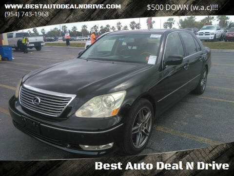 2005 Lexus LS 430 for sale at Best Auto Deal N Drive in Hollywood FL