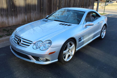2007 Mercedes-Benz SL-Class for sale at CANTWEIGHT CLASSICS in Maysville OK