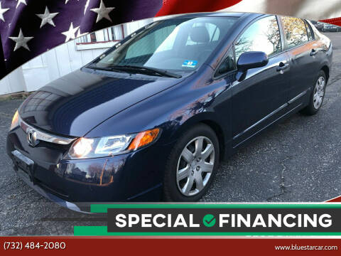 2007 Honda Civic for sale at Blue Star Cars in Jamesburg NJ