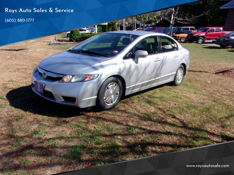 2009 Honda Civic for sale at Roys Auto Sales & Service in Hudson NH