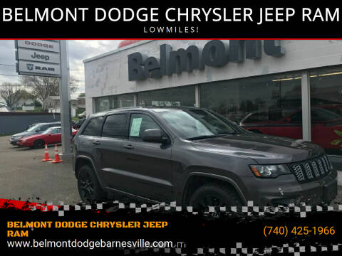 2019 Jeep Grand Cherokee for sale at BELMONT DODGE CHRYSLER JEEP RAM in Barnesville OH