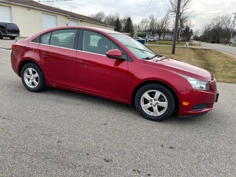 2012 Chevrolet Cruze for sale at J & K AUTO SALES LLC in Holland MI