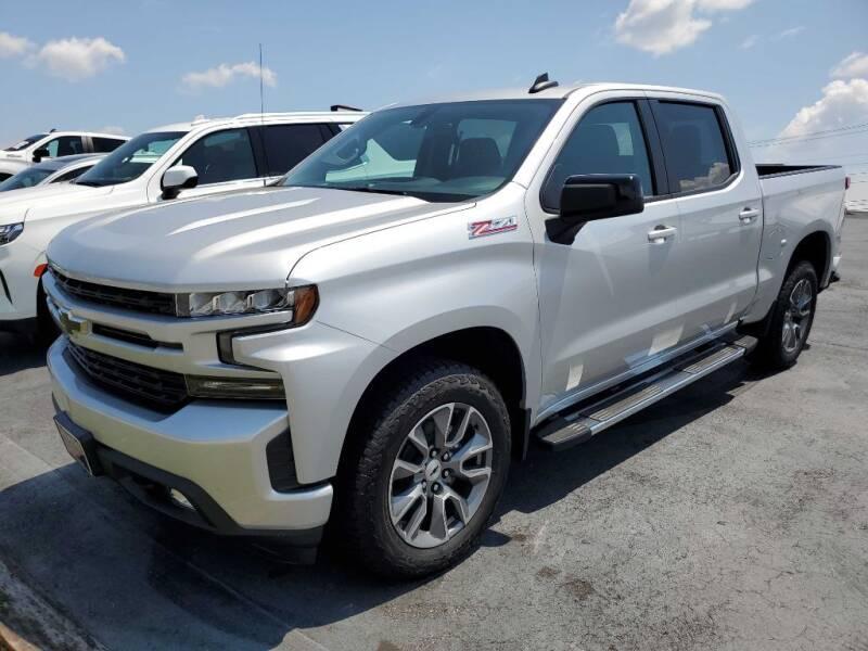 2021 Chevrolet Silverado 1500 for sale at THE TRAIN AUTO SALES & RENTALS in Taylors SC