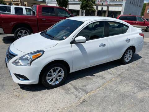 2018 Nissan Versa for sale at East Main Rides in Marion VA