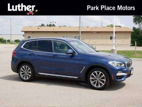 2019 BMW X3 for sale at Park Place Motor Cars in Rochester MN