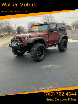 2009 Jeep Wrangler for sale at Walker Motors in Muncie IN