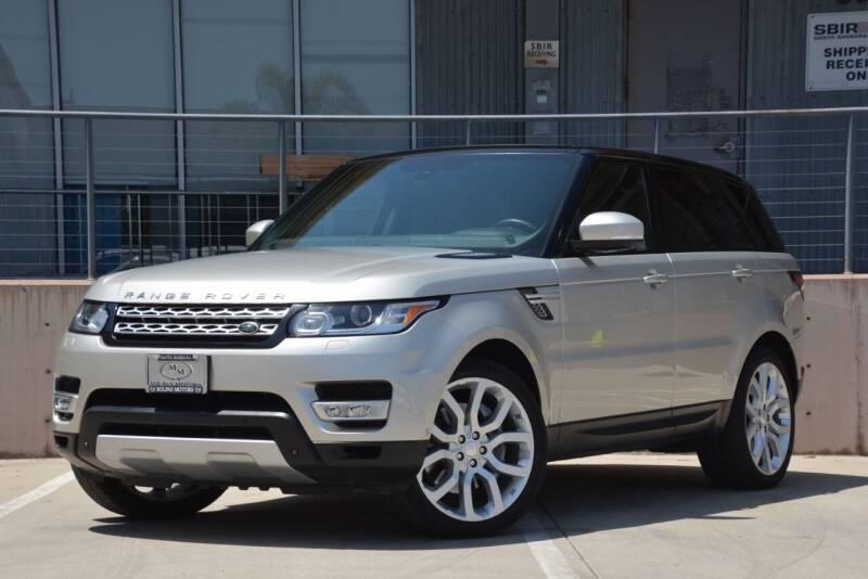 2014 Land Rover Range Rover Sport for sale at Milpas Motors in Santa Barbara CA