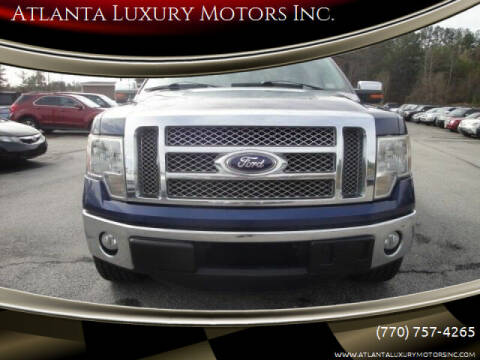 2012 Ford F-150 for sale at Atlanta Luxury Motors Inc. in Buford GA