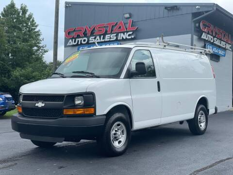 2016 Chevrolet Express Cargo for sale at Crystal Auto Sales Inc in Nashville TN