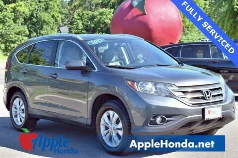 2013 Honda CR-V for sale at APPLE HONDA in Riverhead NY