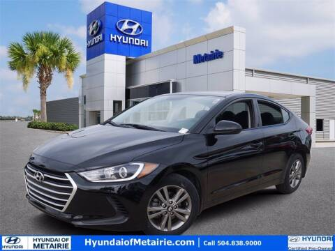 2018 Hyundai Elantra for sale at Metairie Preowned Superstore in Metairie LA