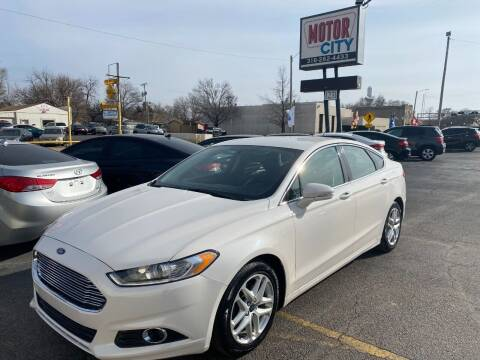 2015 Ford Fusion for sale at Motor City Sales in Wichita KS
