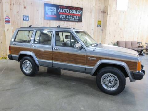 1991 Jeep Cherokee for sale at Boone NC Jeeps-High Country Auto Sales in Boone NC