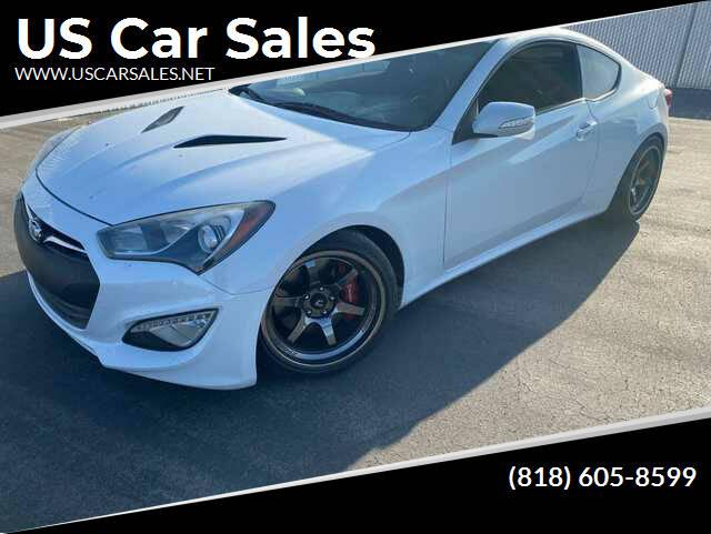 2015 Hyundai Genesis Coupe for sale at U.S Car Sales in Van Nuys CA