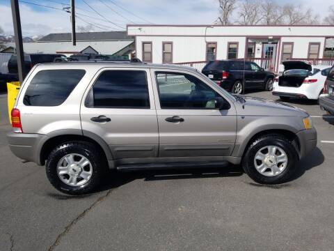2001 Ford Escape for sale at Freds Auto Sales LLC in Carson City NV