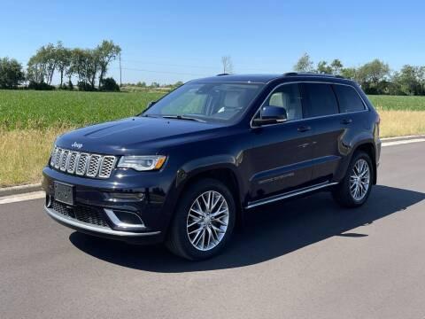 2017 Jeep Grand Cherokee for sale at Geneva Motorcars LLC in Delavan WI