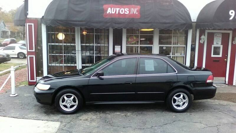 2002 Honda Accord for sale at Autos Inc in Topeka KS
