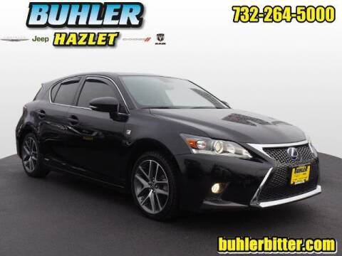2016 Lexus CT 200h for sale at Buhler and Bitter Chrysler Jeep in Hazlet NJ