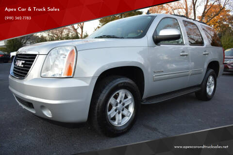 2010 GMC Yukon for sale at Apex Car & Truck Sales in Apex NC