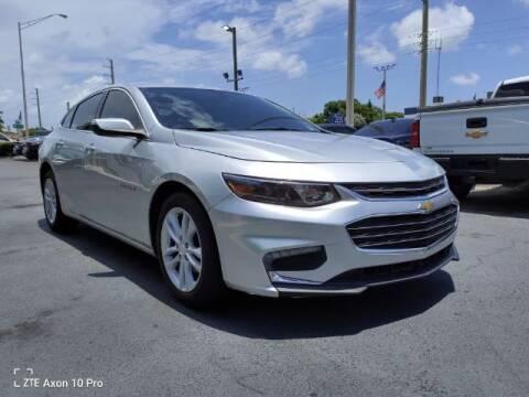 2018 Chevrolet Malibu for sale at Start Auto Liquidation Center in Miramar FL
