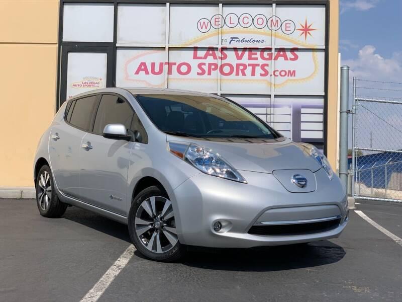 2015 Nissan LEAF for sale in Las Vegas, NV