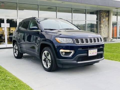 2019 Jeep Compass for sale at RUSTY WALLACE CADILLAC GMC KIA in Morristown TN