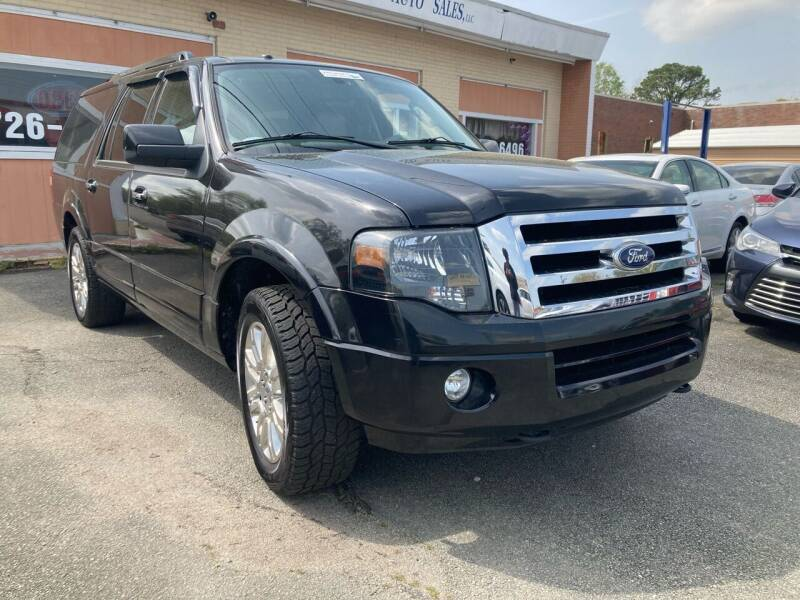2011 Ford Expedition EL for sale at City to City Auto Sales in Richmond VA