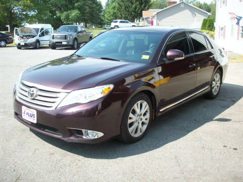 2012 Toyota Avalon for sale at A-Plus Motors in Alton ME