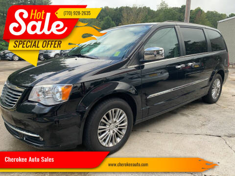 2015 Chrysler Town and Country for sale at Cherokee Auto Sales in Acworth GA
