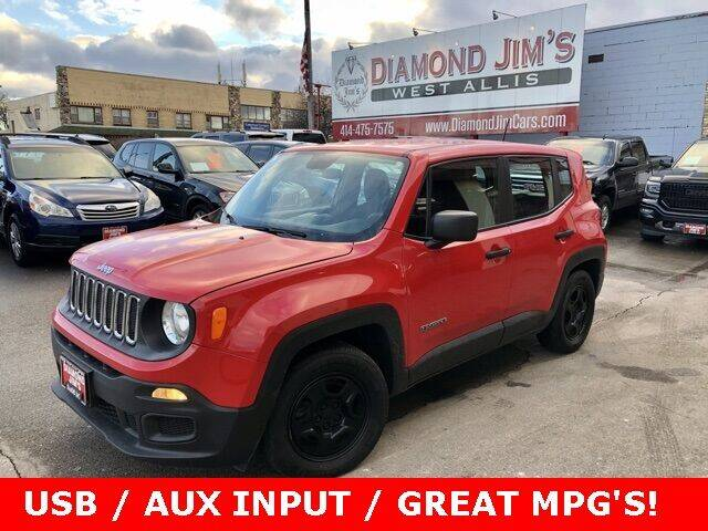 2015 Jeep Renegade for sale at Diamond Jim's West Allis in West Allis WI